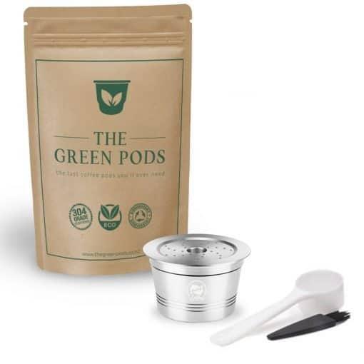 one reusable caffitaly coffee pod
