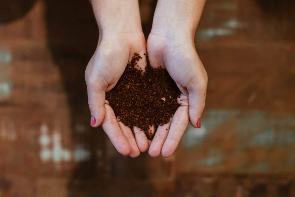 one of the best uses for used coffee beans is as compost
