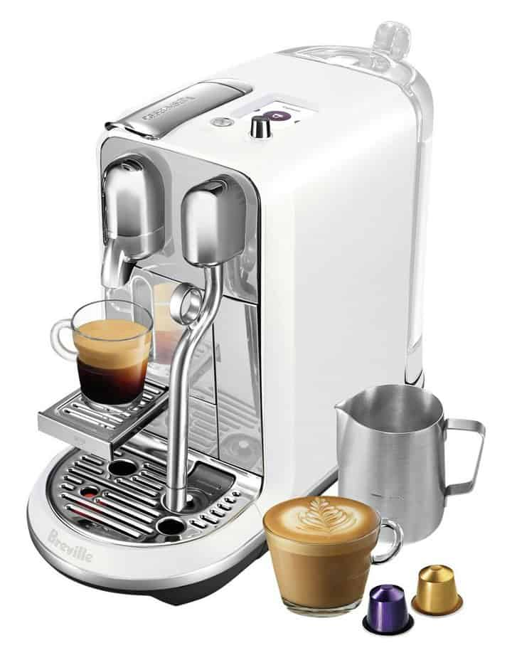 Nespresso creatista is the best coffee machine for baristas