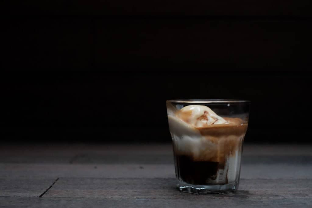 how to make an affogato with nespresso or caffitaly pods